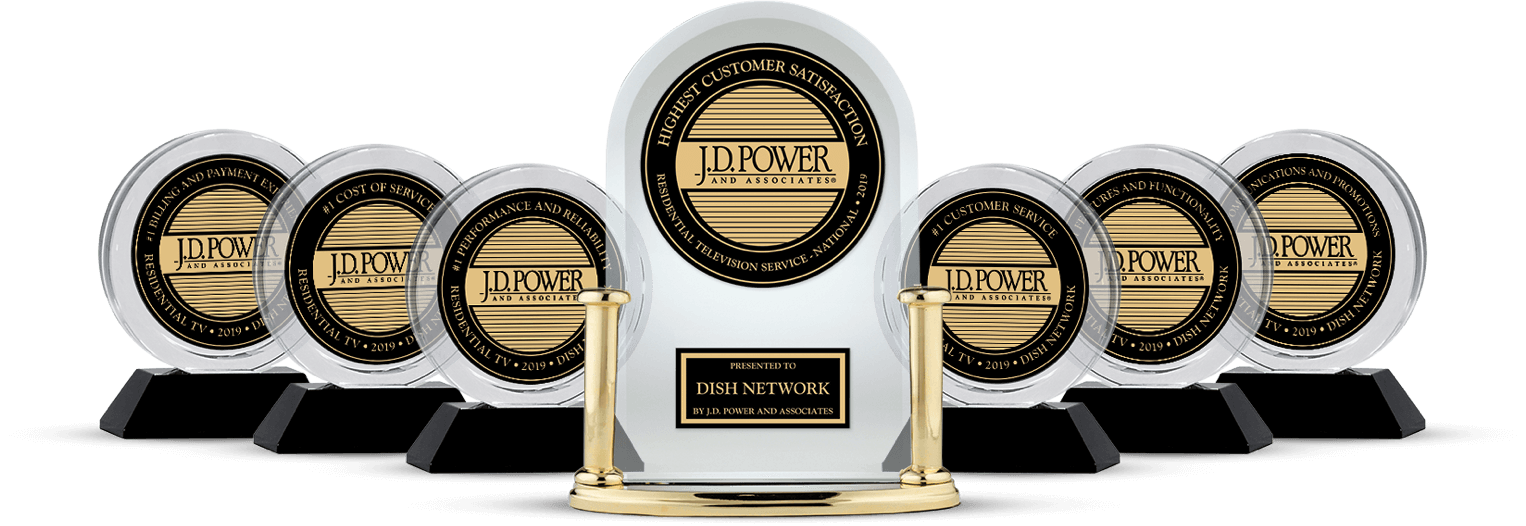 DISH Customer Satisfaction - Ranked #1 by JD Power - Alleman's Communication in Chambersburg, PA - DISH Authorized Retailer