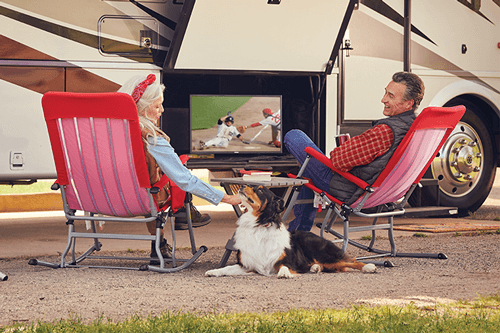 Watch DISH TV Outdoors in the RV- Chambersburg, PA - Alleman's Communication - DISH Authorized Retailer
